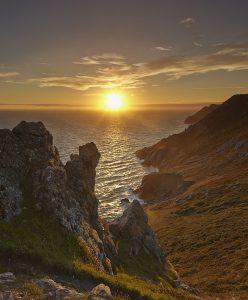 Salcombe Sunset print